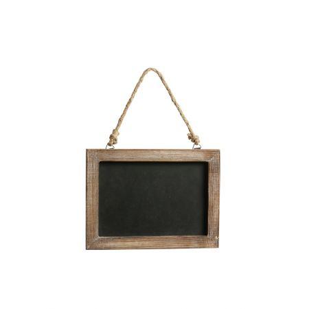 Διακοσμητικός κρεμαστός μαυροπίνακας 20x1x15cm