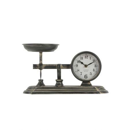 Διακοσμητικό Ρολόι-Ζυγαριά 36.5x15.5x20.5cm