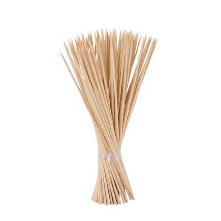 Σετ 100τχ ξυλάκια μπαμπού για στήριξη φυτών και συνθέσεων 60cm