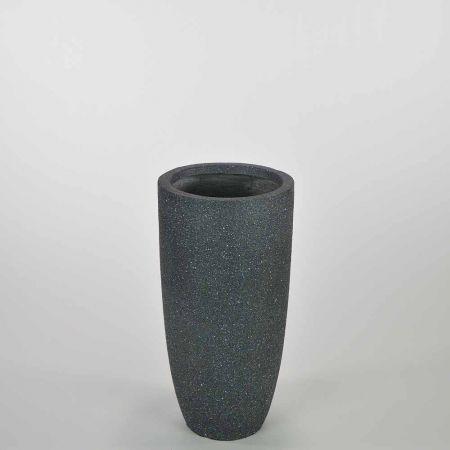 Διακοσμητικό βάζο Ανθρακί 23,5x46,5cm