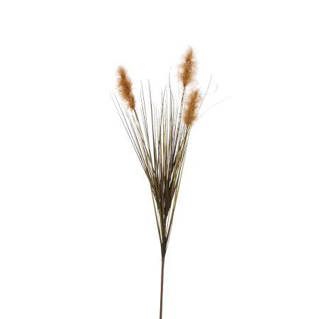Διακοσμητικό κλαδί Pampas Grass Φυσικό μπεζ 97cm