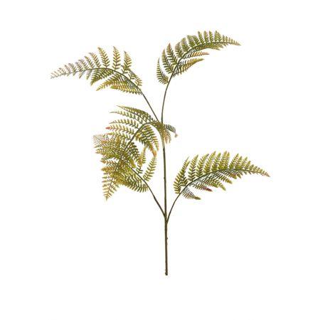 Διακοσμητικό κλαδί φτέρη πράσινο 110cm