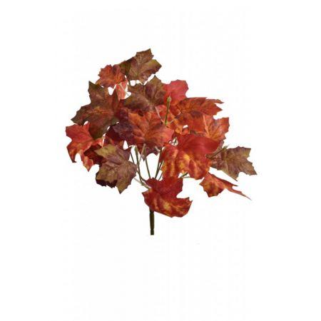 Διακοσμητικό κλαδί σφενδάμου Πορτοκαλί 31cm