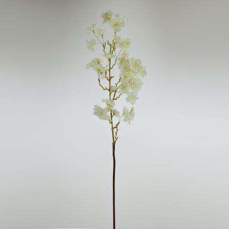 Διακοσμητικό κλαδί Βερικοκιάς Λευκό 88cm