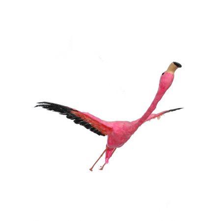 Διακοσμητικό Ροζ Φλαμίνγκο που πετάει 113cm