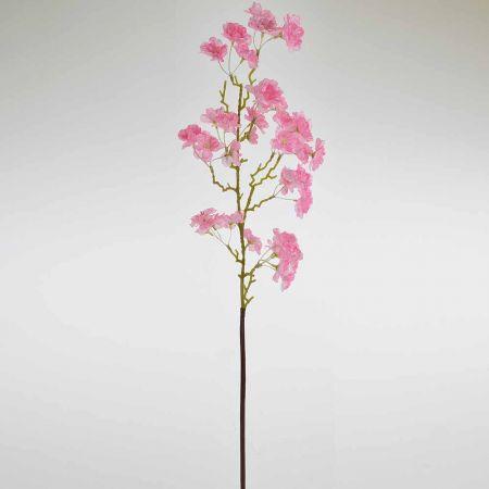Διακοσμητικό κλαδί Βερυκοκιάς Ροζ 88cm