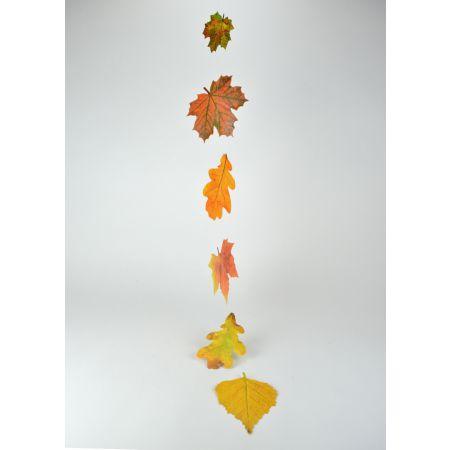 Διακοσμητική γιρλάντα με Φθινοπωρινά φύλλα 125cm