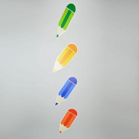 Διακοσμητική γιρλάντα με 4 μολύβια 115x20cm