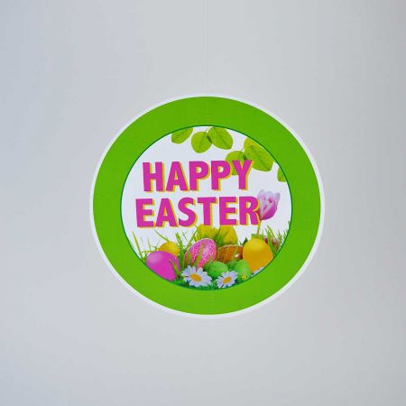 Διακοσμητικό χάρτινο κρεμαστό - Happy Easter - 28cm