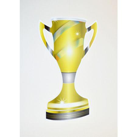 Διακοσμητικό κύπελλο ποδοσφαίρου Mundial 2018 41x24cm