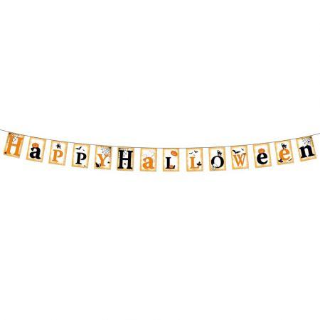 Διακοσμητική Χάρτινη γιρλάντα Happy Halloween 20x300cm