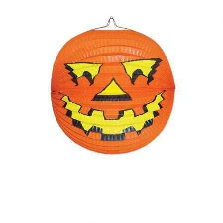 Κρεμαστή μπάλα - φανάρι Κολοκύθα Halloween 24cm