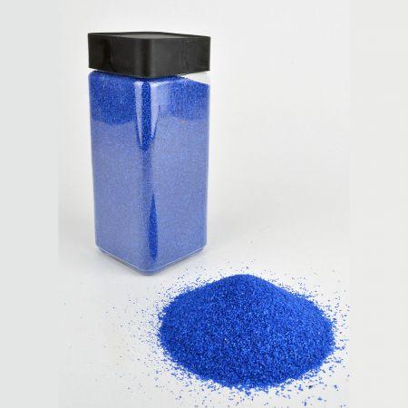 Συσκευασία 550ml Διακοσμητική άμμος χρωματιστή Μπλε 0,5mm