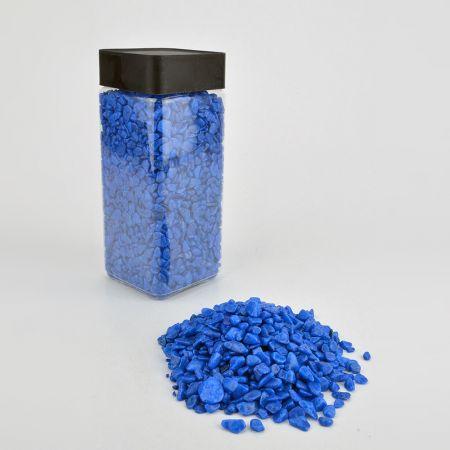 Συσκευασία 550ml Διακοσμητικό χαλίκι χρωματιστό - φυσικό υλικό.
