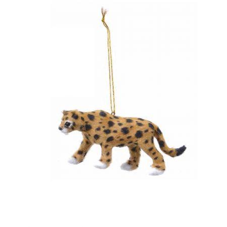 Κρεμαστό στολίδι - Λεοπάρδαλη (Σχέδιο 01) 13cm