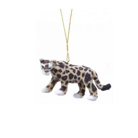 Κρεμαστό στολίδι - Λεοπάρδαλη (Σχέδιο 03) 11cm