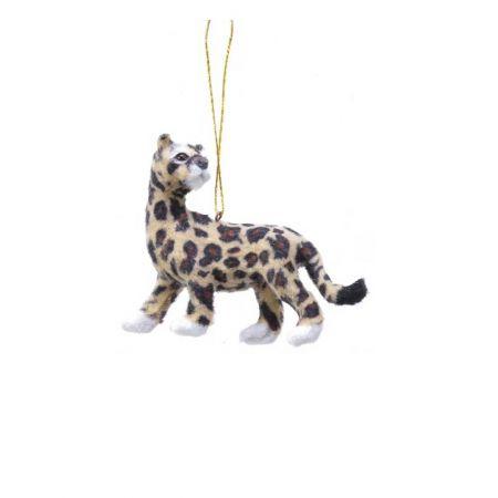 Κρεμαστό στολίδι - Λεοπάρδαλη (Σχέδιο 04) 11cm