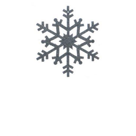 Σετ 2τχ Κρεμαστό στολίδι χιονονιφάδα Γαλάζιο (Σχέδιο 02) 12cm