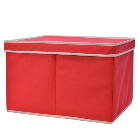 Κουτί αποθήκευσης Κόκκινο 30x39,5x25,5cm