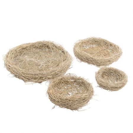 Διακοσμητική φωλιά από φυσικό υλικό 10cm