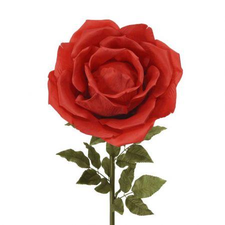 XL Διακοσμητικό τριαντάφυλλο Κόκκινο 136cm