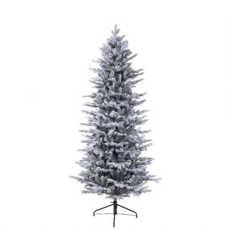 Χριστουγεννιάτικο δέντρο Χιονισμένο Slim - mix PVC-PE 210cm