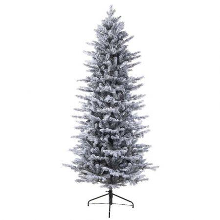 Χριστουγεννιάτικο δέντρο Χιονισμένο Grandis Slim - mix PVC-PE 240cm