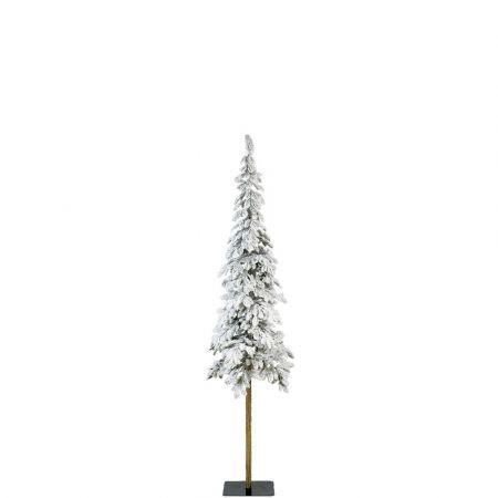Χριστουγεννιάτικο δέντρο Χιονισμένο με ψηλό κορμό Alpine - Plastic PE 150cm