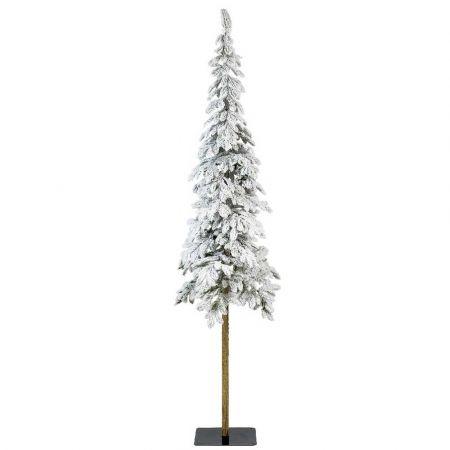 Χριστουγεννιάτικο δέντρο Χιονισμένο με ψηλό κορμό Alpine - Plastic PE 240cm