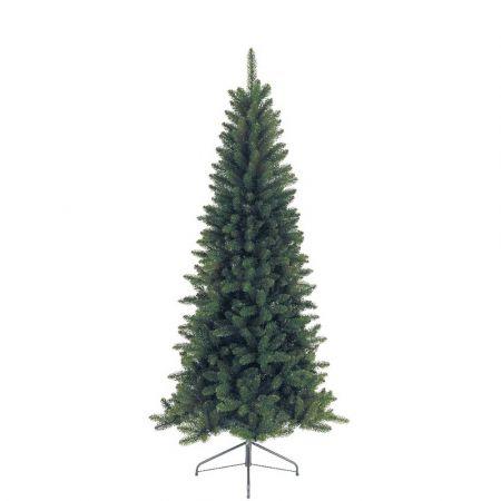 Χριστουγεννιάτικο δέντρο Lodge Slim PVC 210cm