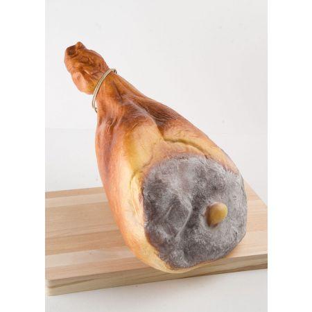 Διακοσμητικό μπούτι προσούτο χοιρινό parma - απομίμηση 48x30x14cm