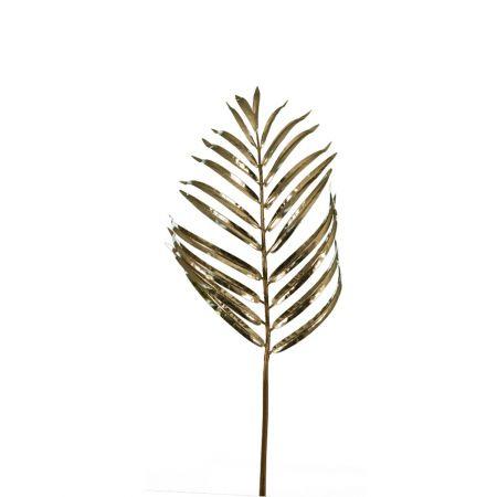 Διακοσμητικό φύλλο Αρέκα Χρυσό 78cm