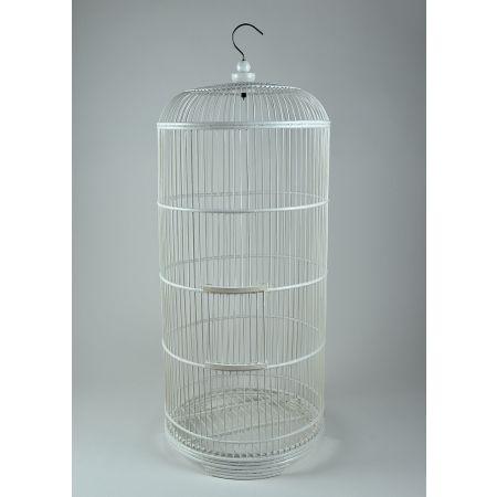 Διακοσμητικό κλουβί Bamboo Λευκό 90cm