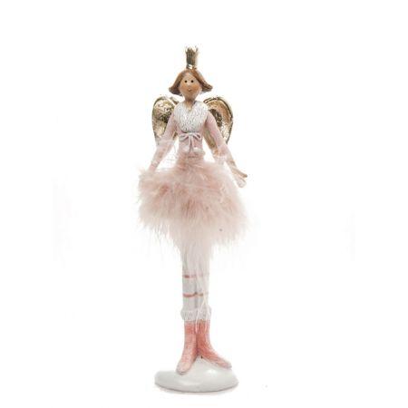 Διακοσμητική μπαλαρίνα - αγγελάκι 17,5cm