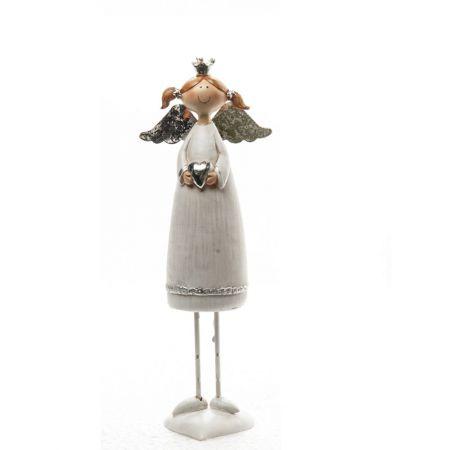 Διακοσμητικό Χριστουγεννιάτικο αγγελάκι 18cm