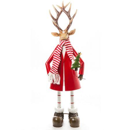 Διακοσμητικός Χριστουγεννιάτικος τάρανδος 62cm