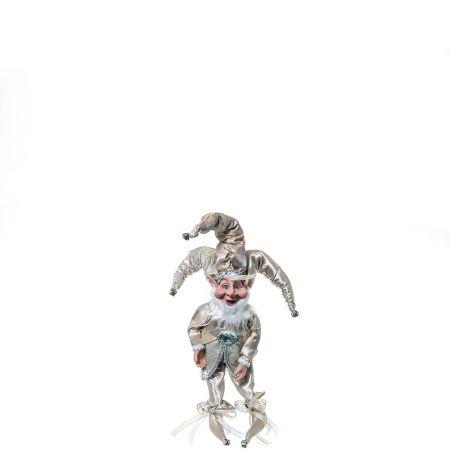 Χριστουγεννιάτικο ξωτικό - αρλεκίνος Σαμπανί 40cm