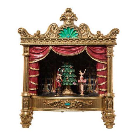 Επιτραπέζιο διακοσμητικό - Θέατρο με παράσταση polyresin 47x28x56cm