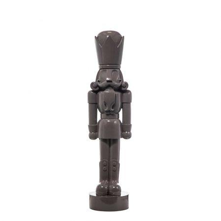 Διακοσμητικός καρυοθραύστης Polyresin Γκρι 25,5x22x91,5cm