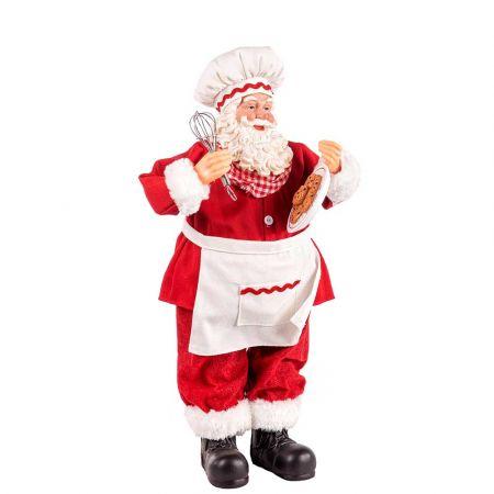 Διακοσμητικός Άγιος Βασίλης με δώρα 42cm