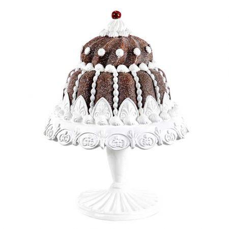Διακοσμητική τούρτα σε βάση polyresin 26x35cm