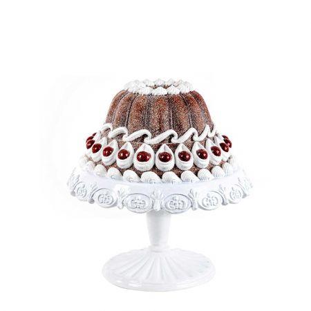 Διακοσμητική τούρτα σε βάση polyresin 23x24cm