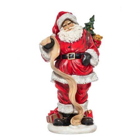 Διακοσμητικός Άγιος Βασίλης polyresin 50cm