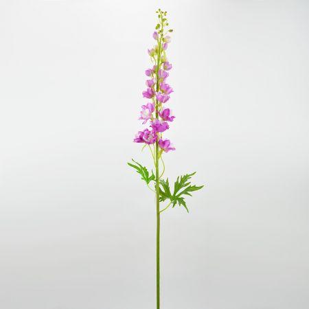 Διακοσμητικό συνθετικό λουλούδι Δελφίνο Ροζ 106cm