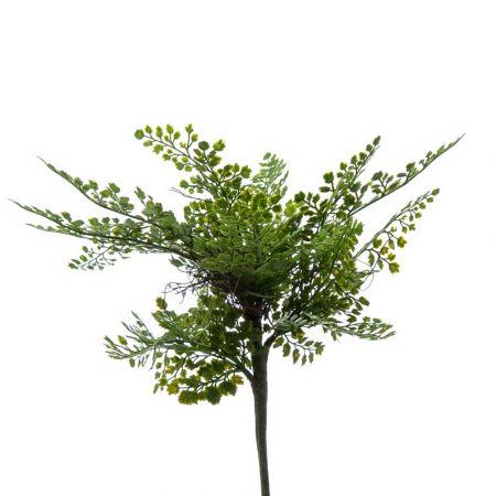 Διακοσμητική δέσμη-μπουκέτο με φύλλα Αδίαντου 40cm