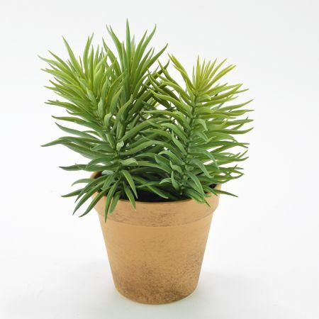 Διακοσμητικό τεχνητό φυτό σε γλαστράκι 16x250cm