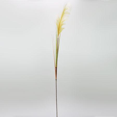 Διακοσμητικό τεχνητό γρασίδι Pampas Grass Μπεζ 162cm