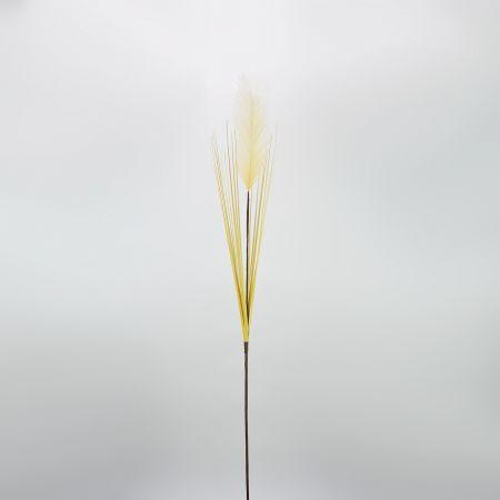 Διακοσμητικό τεχνητό γρασίδι Pampas Grass Εκρού 162cm