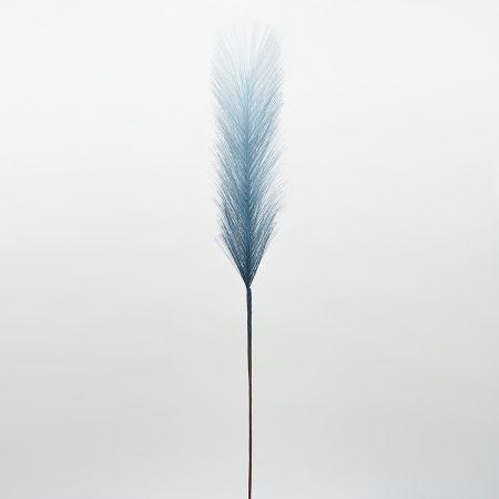 Διακοσμητικό τεχνητό γρασίδι Pampas Grass Μπλε 60cm
