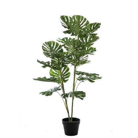 Διακοσμητικό τεχνητό φυτό Monstera σε γλάστρα 120cm